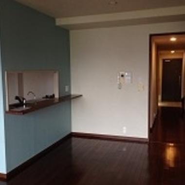 | 和室から洋室にリノベーション完了 キッチン ダイニング