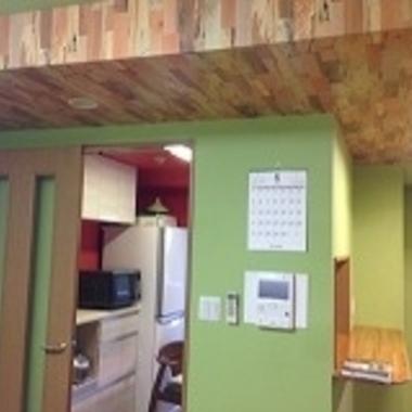 | 戸建住宅リフォーム完了 キッチン手前