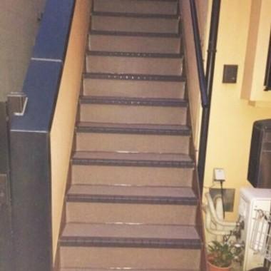外階段リフォーム完了 階段