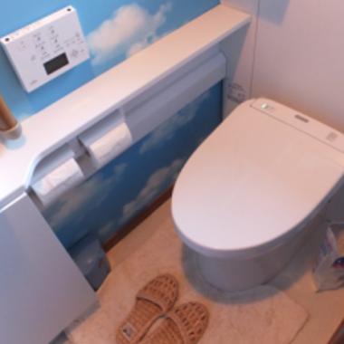 トイレリフォーム完了 2階トイレ
