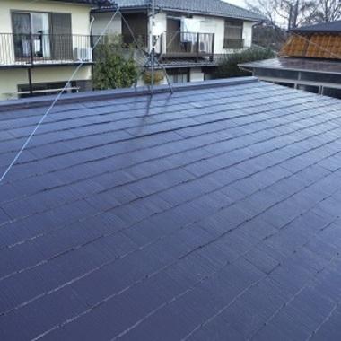 | 屋根塗装 修繕 完了