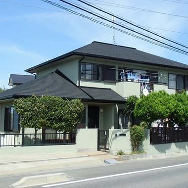 戸建住宅 屋根塗装リフォーム完了