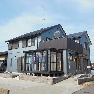 戸建住宅 サイディング張替え・外構工事 完了
