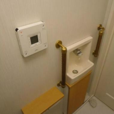 | トイレ改装工事 完了 手洗器