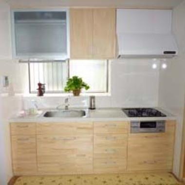 キッチンリフォ-ム システムキッチン設置後