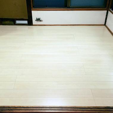 横浜市✕床張り替え✕畳からフローリングに変える工事の施工後写真(0枚目)