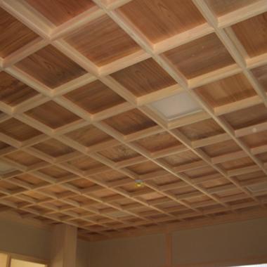 和室 天井装飾1