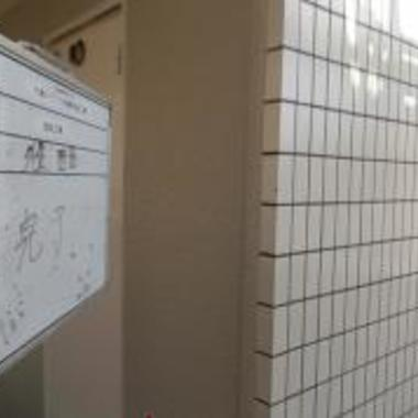 アパ-ト 外壁塗装後 壁アップ画像 1