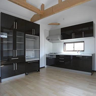 新築住宅工事 完了 キッチン