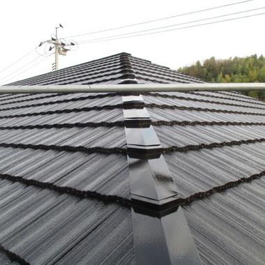 アパ-ト 屋根塗装後