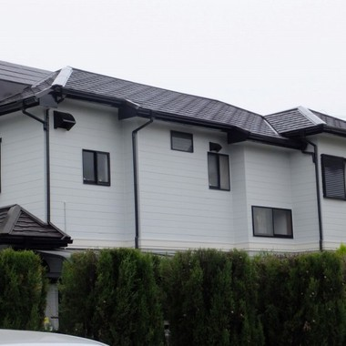 屋根・外壁塗装後 屋根・2階壁面