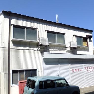 スレート屋根・壁塗装後