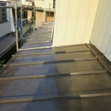 板金屋根葺き替え後
