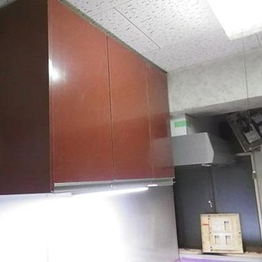 キッチン リフォ-ム後 吊るし棚