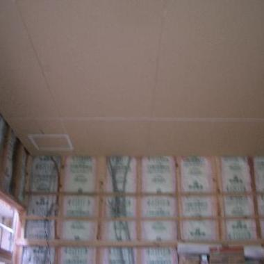 天井板工事完了