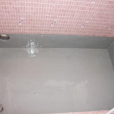 浴室防水後