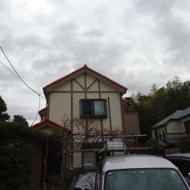 屋根・外壁塗装後 全体画像