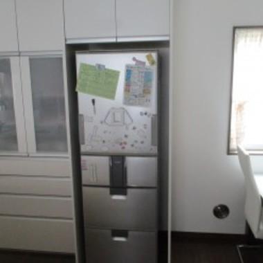 キッチン リフォ-ム後 収納