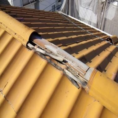 | 屋根修理前