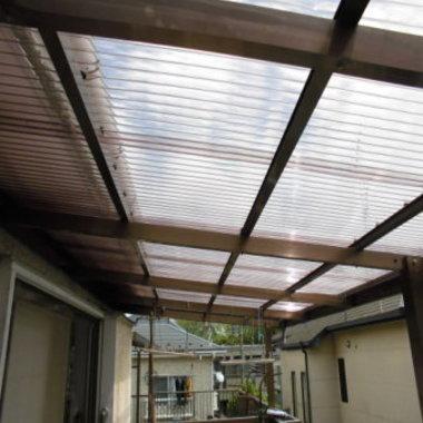 | テラス 屋根修理後