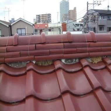| 屋根修理後