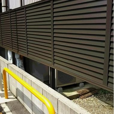 フェンス設置後