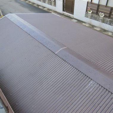 屋根葺き直工事後