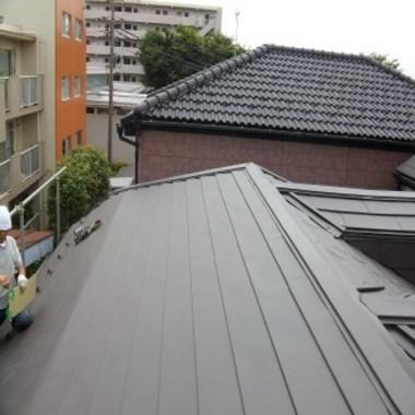 | 屋根 葺き替え後