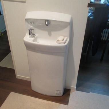 | 手洗いスペース新設後