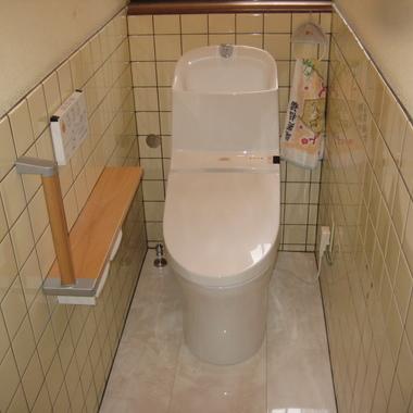 | トイレ リフォ-ム後