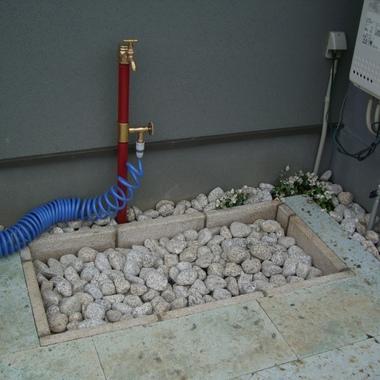 立水栓設置後2