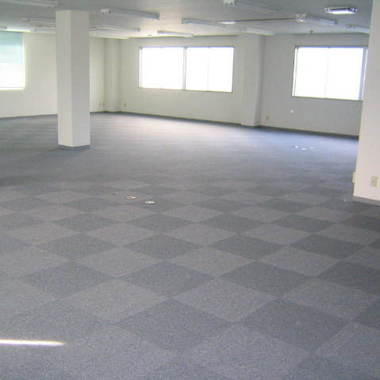 | 空き事務所のタイルカーペット張替え 施工後