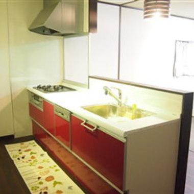 | 大阪府 キッチンリフォーム 和室を洋室に 後 キッチン