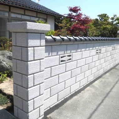 ブロック塀改修工事完了