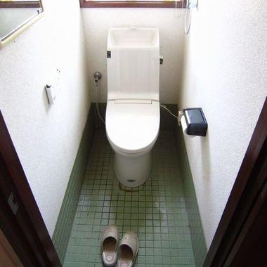 | トイレ交換完了
