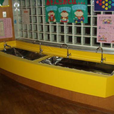保育園 水回り改修工事完了