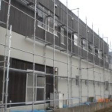 外壁塗装工事作業中 7