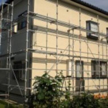 外壁塗装工事作業中 6