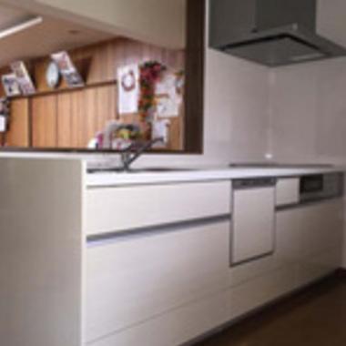 キッチン改修工事完了