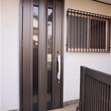 戸建住宅リフォーム完了 玄関