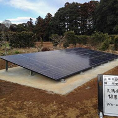 | 太陽光発電パネル設置