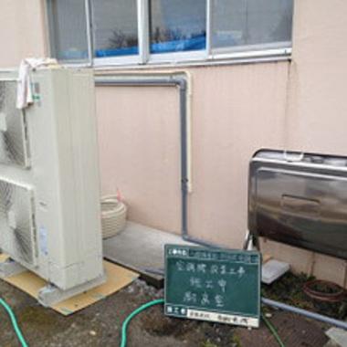 | 太陽光発電システム電気配線工事