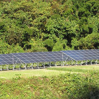 産業用太陽光発電システム設置工事