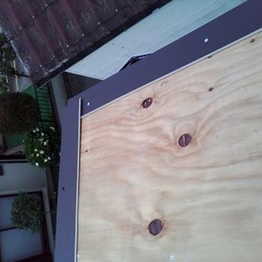 屋根の上葺きで簡単リフォームの施工前写真(0枚目)