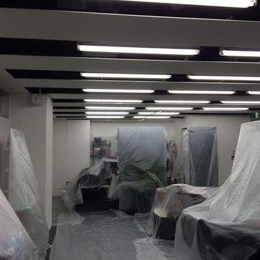 港区 美容室  店舗内装塗装工事の施工前写真(0枚目)