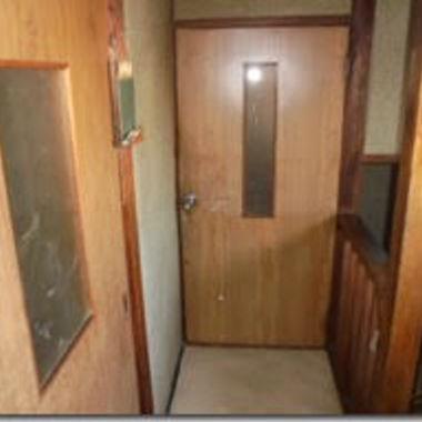 室内ドア施工後