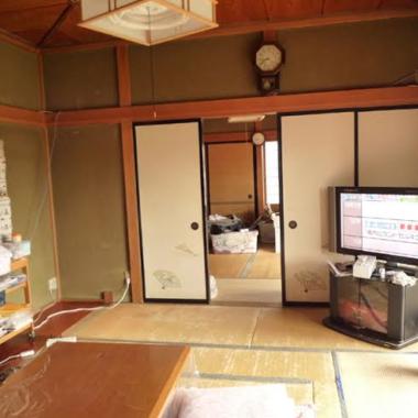 洋室変更前の和室