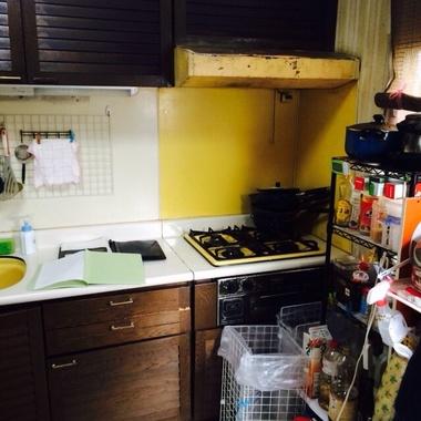 キッチンリフォームの施工前写真(0枚目)