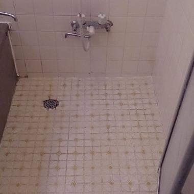 浴室タイル張替工事の施工前写真(0枚目)
