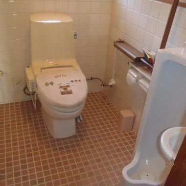 既存トイレ洋式 男性用